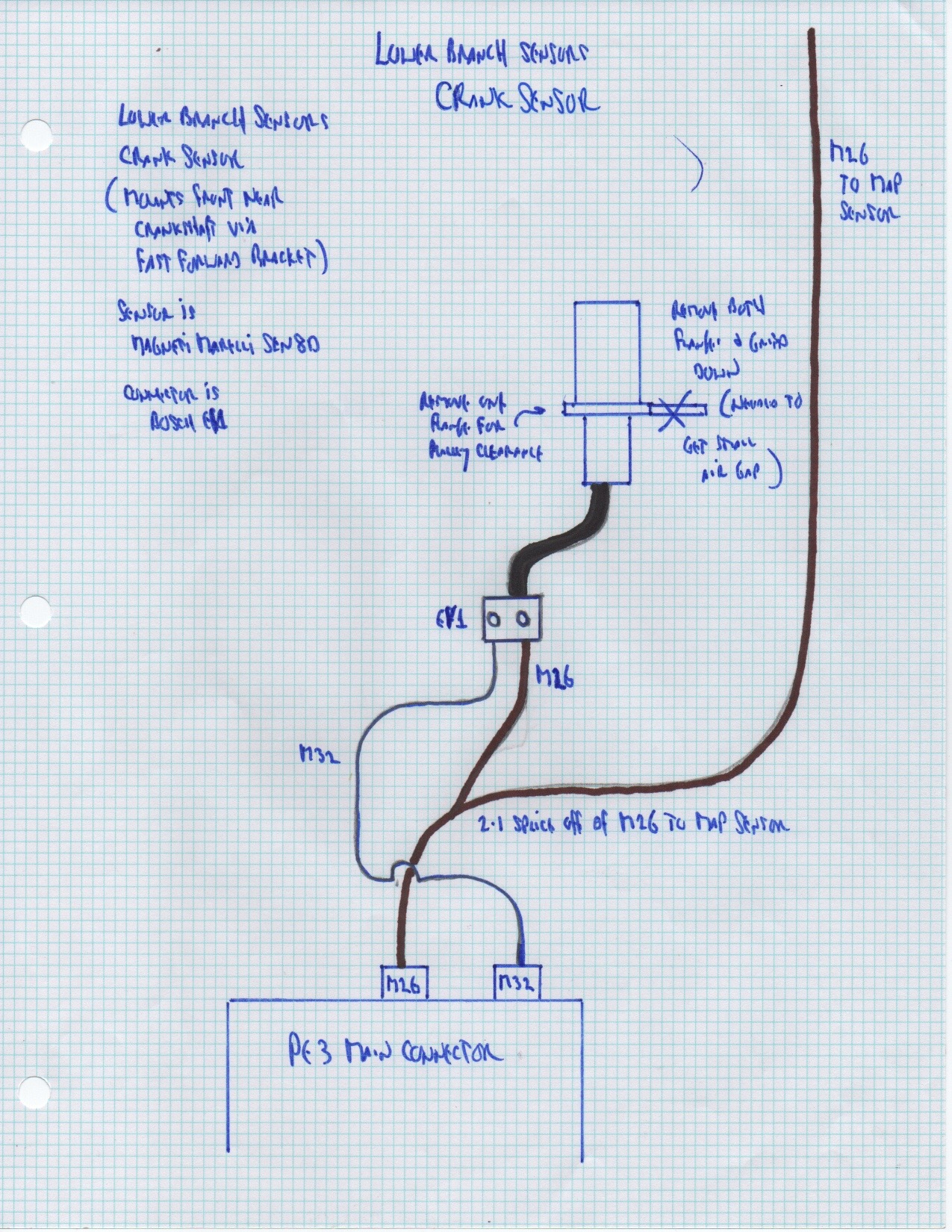 Crank Sensor Wiring Diagram 4ze1 Schematics Pick Up 2 4 Mass Air Flow On 1996 Nissan Sentra Engine Angle Trusted Diagrams Knock Position Placement
