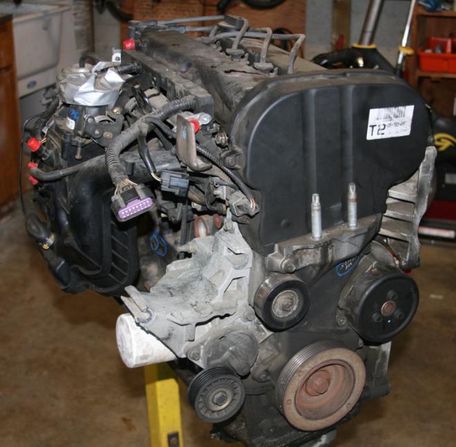 Converting An Auto Salvage Zetec ZX3